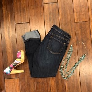 GAP Straight Cuff Cropped Jeans - Size 4